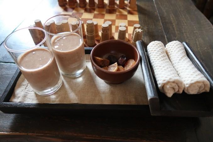 SIX SENSES ZIGHY BAY: LOBBY (WELCOME DRINK)