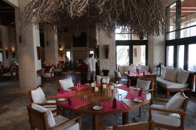SIX SENSES ZIGHY BAY: SUMMER HOUSE RESTAURANT