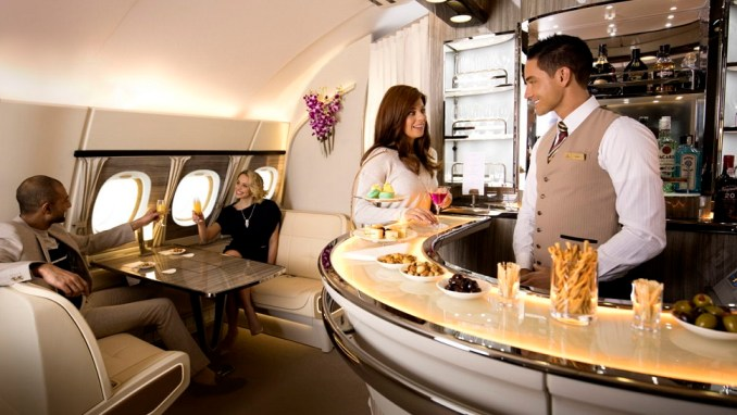 ONBOARD LOUNGE & BAR (A380 AIRCRAFT ONLY)