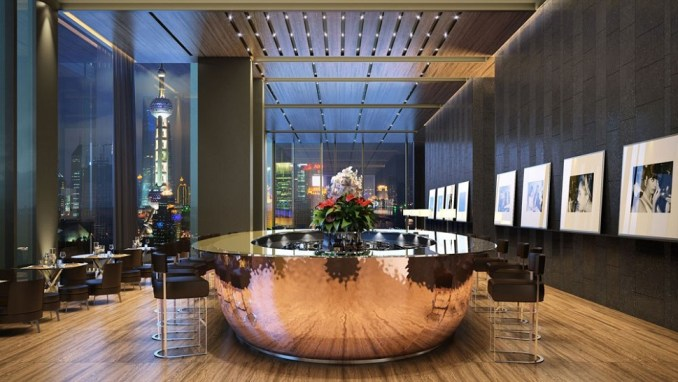 THE BULGARI HOTEL SHANGHAI, CHINA