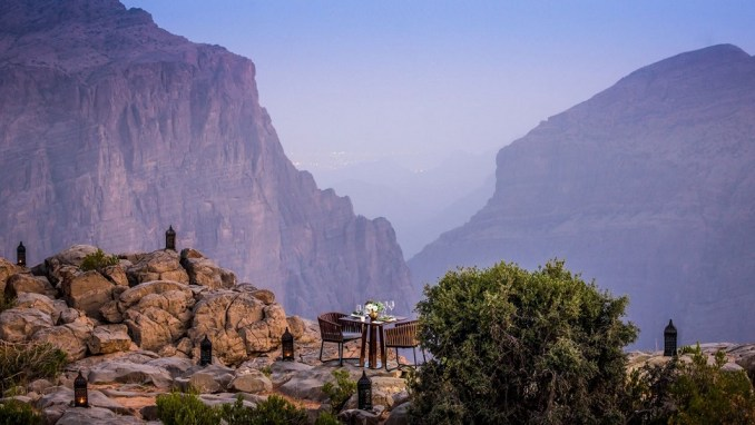 WNI A HOLIDAY AT THE SPECTACULAR ANANTARA JABAL AL AKHDAR RESORT IN OMAN