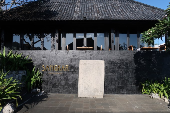 BULGARI BALI: SANGKAR RESTAURANT