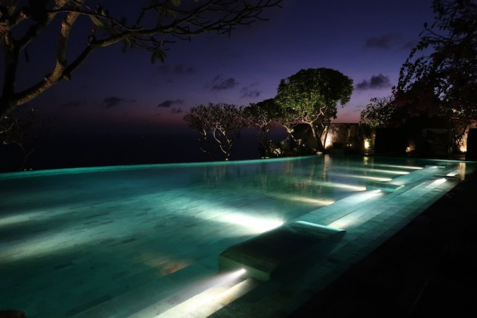 BULGARI BALI AT NIGHT