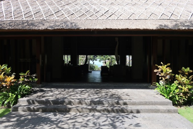 BULGARI BALI: RECEPTION PAVILION