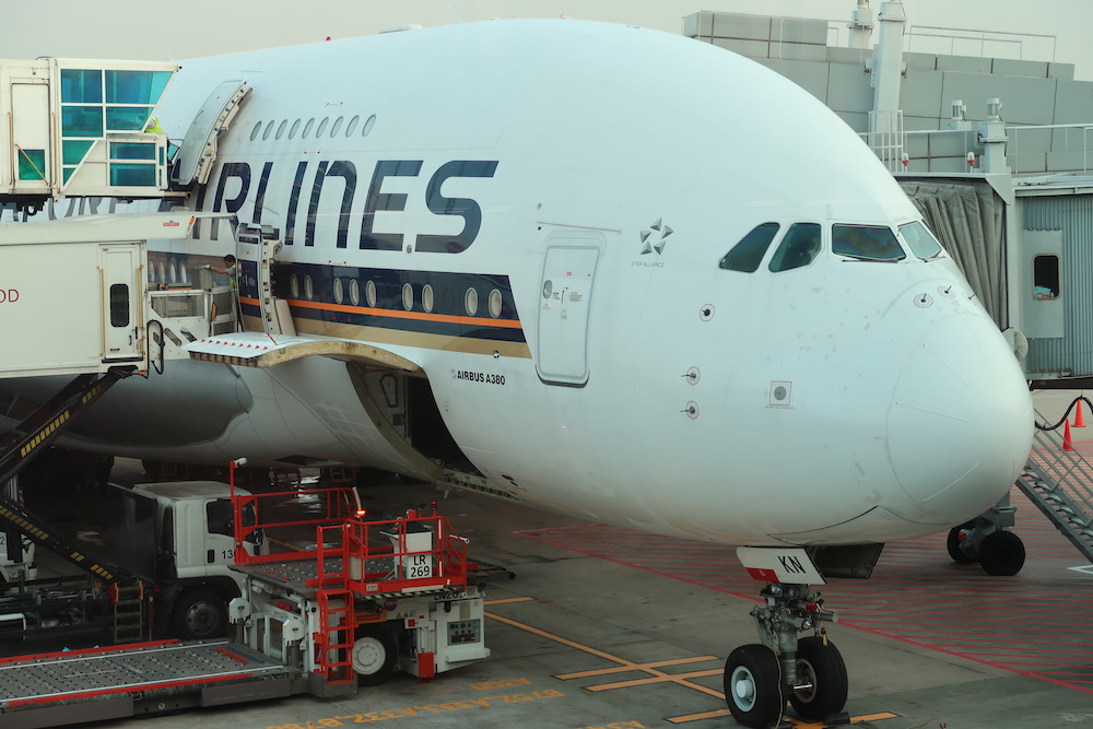 Review: Singapore Airlines A380 Business Class - Singapore