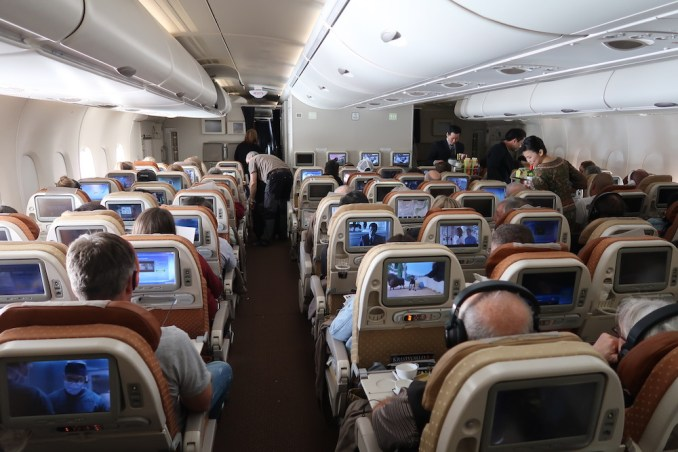 SINGAPORE AIRLINES A380: ECONOMY CLASS