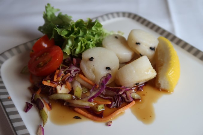 SINGAPORE AIRLINES A380: BUSINESS CLASS - LUNCH