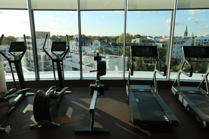 THE FONTENAY HAMBURG: GYM