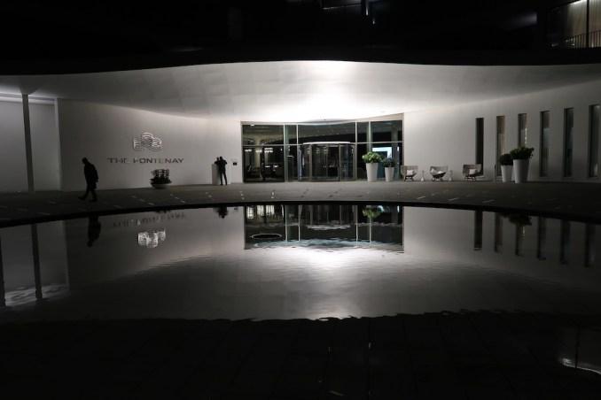 THE FONTENAY HAMBURG AT NIGHT