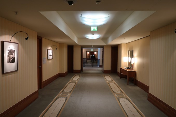 PARK HYATT HAMBURG: GUEST ROOM FLOOR