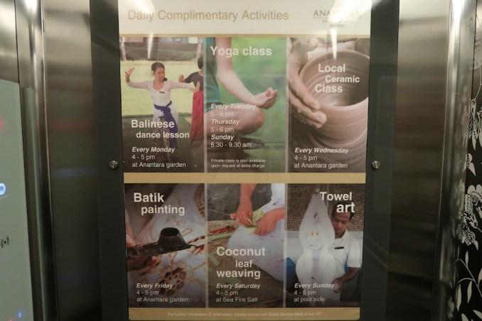 ANANTARA ULUWATU: ELEVATOR TO GUEST ROOMS
