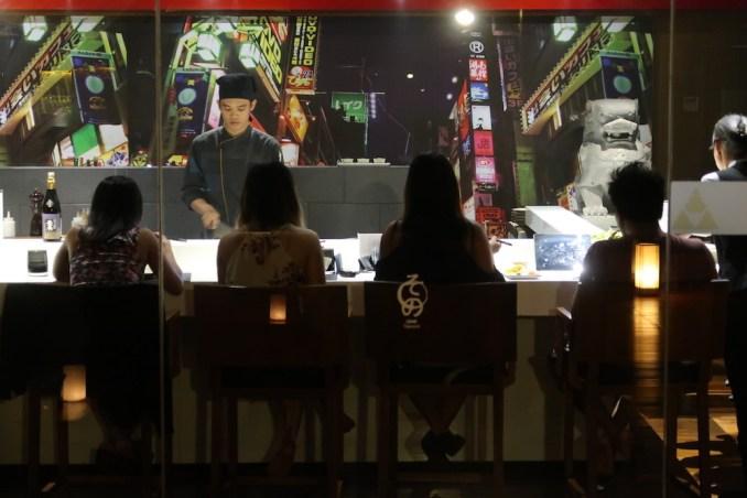 ANANTARA ULUWATU: DINNER AT SONO TEPPANYAKI