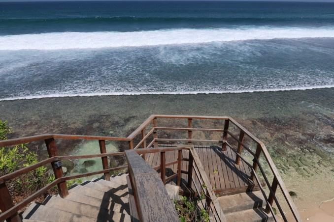 BULGARI BALI: STAIRS TO BEACH CLUB