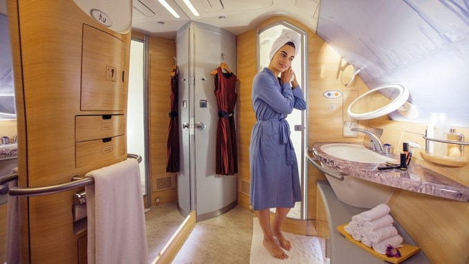 MASSIVE FIRST CLASS BATHROOMS WITH SHOWERS