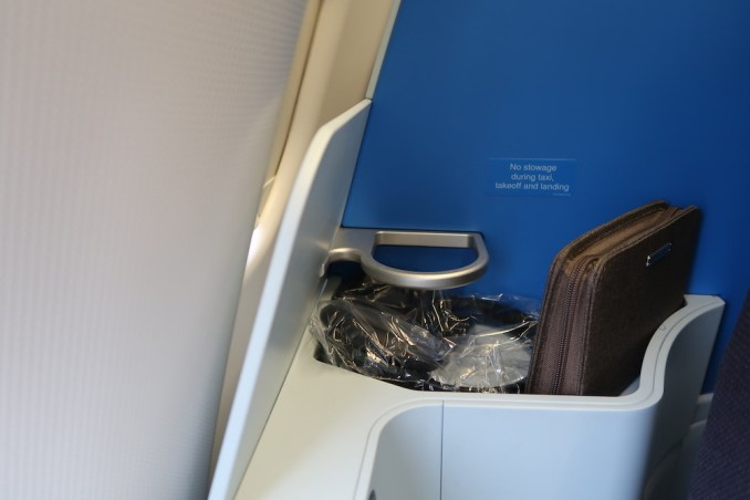 KLM A330 BUSINESS CLASS SEAT