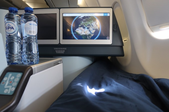 KLM A330 BUSINESS CLASS SEAT (FLAT BED POSITION)