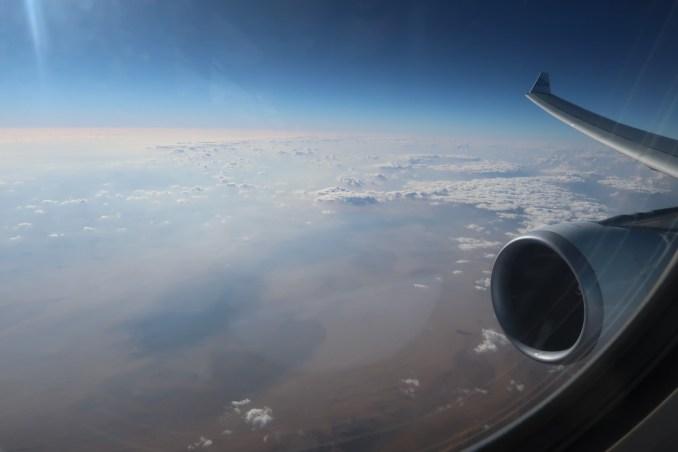 KLM A330: VIEWS OF THE SAHARA DESERT