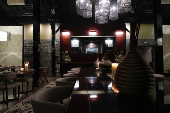 ONE&ONLY NYUNGWE HOUSE: DINNER