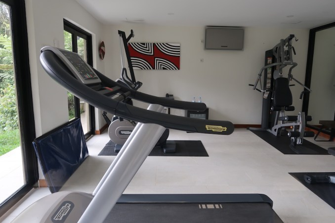 ONE&ONLY NYUNGWE HOUSE: GYM