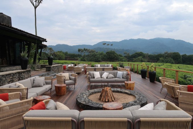 ONE&ONLY NYUNGWE HOUSE: MAIN PAVILION - TERRACE