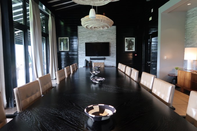 ONE&ONLY NYUNGWE HOUSE: MAIN PAVILION- MEETING ROOM