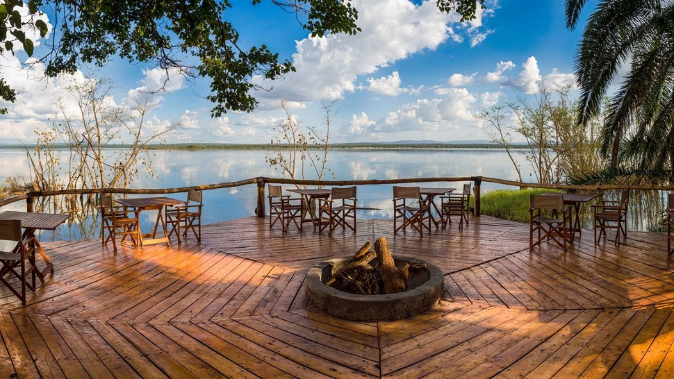 RUZIZI TENTED LODGE, AKAGERA NATIONAL PARK