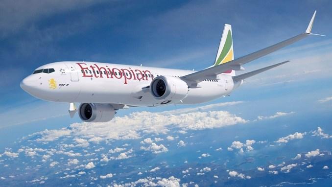 ETHIOPIAN AIRLINES B737 MAX
