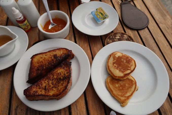 RUZIZI TENTED LODGE: BREAKFAST