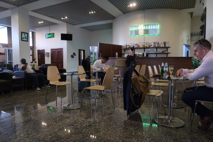 KIGALI AIRPORT - BUSINESS CLASS LOUNGE