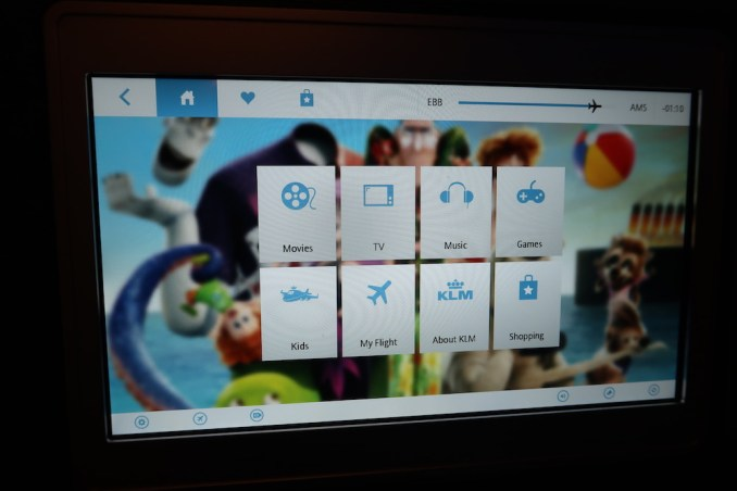 KLM A330 BUSINESS CLASS: INFLIGHT ENTERTAINMENT