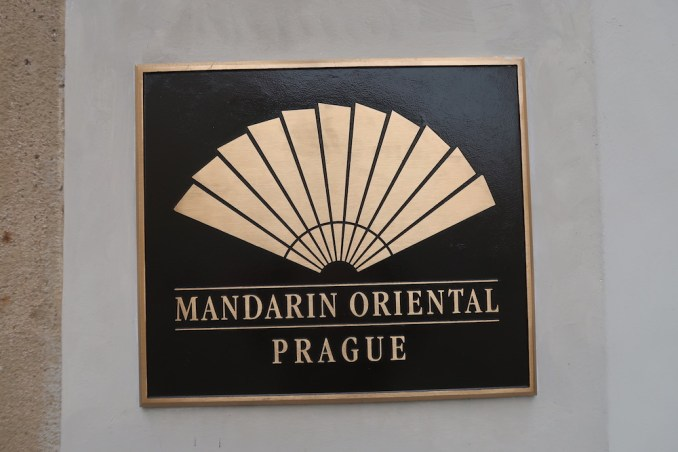 MANDARIN ORIENTAL PRAGUE - ENTRANCE