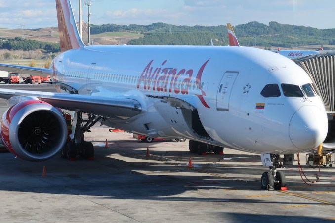 AVIANCA B787 DREAMLINER