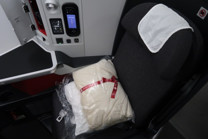 AVIANCA B787 BUSINESS CLASS SEAT