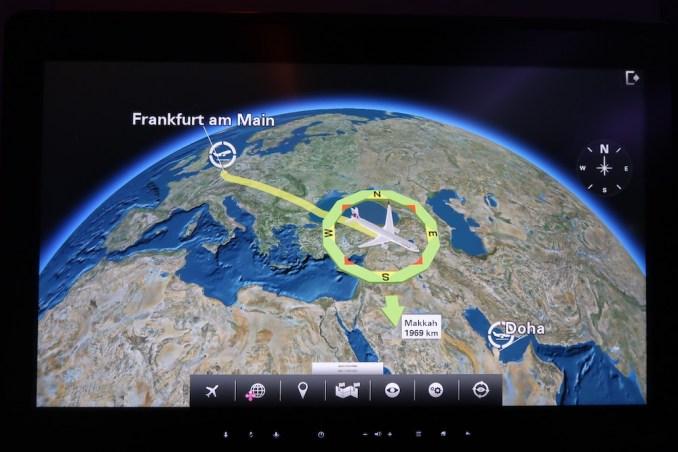 QATAR AIRWAYS A350 INFLIGHT ENTERTAINMENT