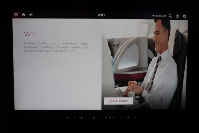 QATAR AIRWAYS A350 WIFI
