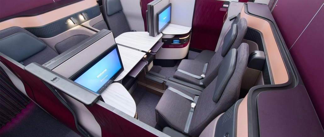 REVIEW QATAR AIRWAYS QSUITE BUSINESS CLASS A350
