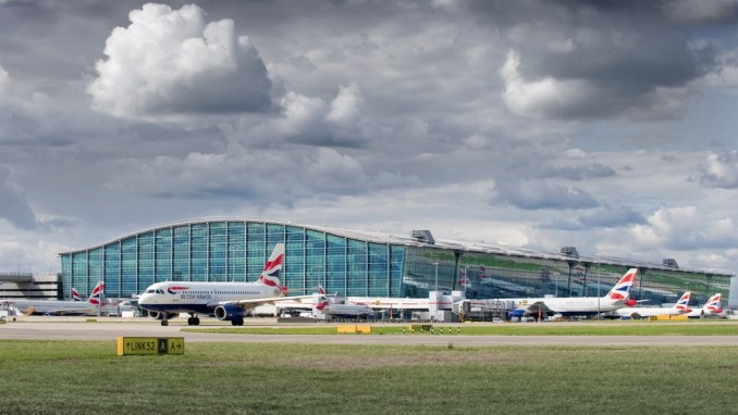 AN EXCELLENT AIRPORT HUB (LONDON HEATHROW)