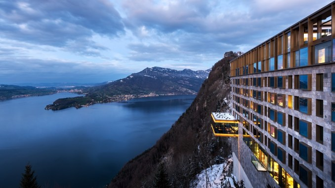 BUERGENSTOCK HOTEL AND ALPINE SPA, LAKE LUCERNE