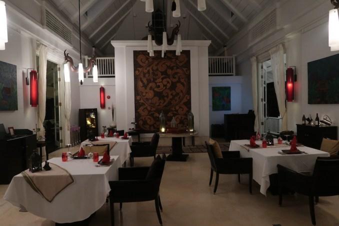 BANYAN TREE SEYCHELLES: DINNER AT CHEZ LAMAR