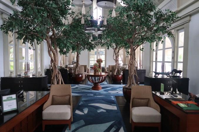 BANYAN TREE SEYCHELLES: LOBBY