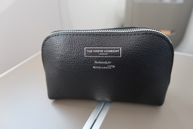 BRITISH AIRWAYS B787 BUSINESS CLASS: AMENITY KIT