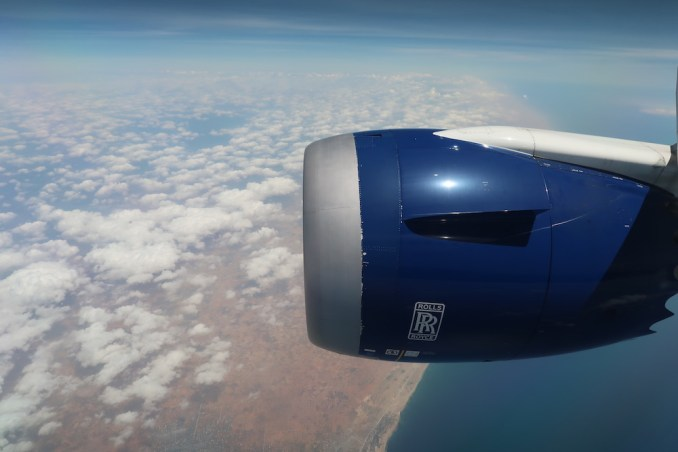 BRITISH AIRWAYS B787: REACHING SOMALIA