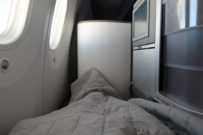 BRITISH AIRWAYS B787: BUSINESS CLASS SEAT (FLAT BED)