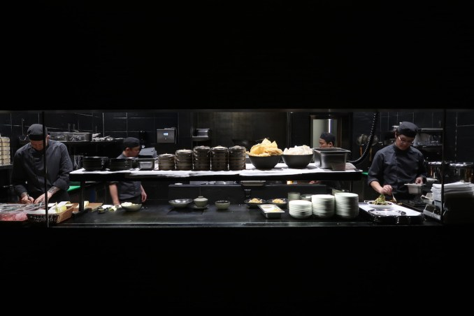 THE CHEDI ANDERMATT: DINNER AT THE RESTAURANT