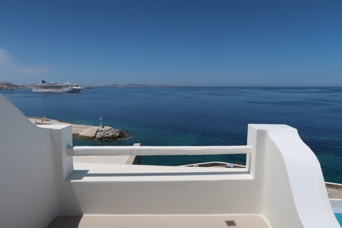CAVO TAGOO MYKONOS: HONEYMOON SUITE (VIEW)