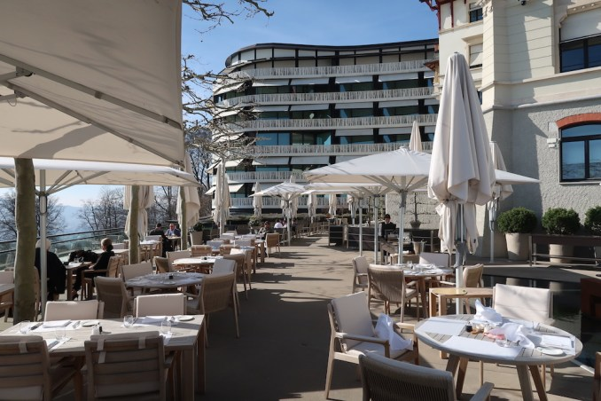 THE DOLDER GRAND: SALTZ RESTAURANT - TERRACE