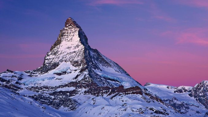 MATTERHORN, A SYMBOL FOR SWITZERLAND