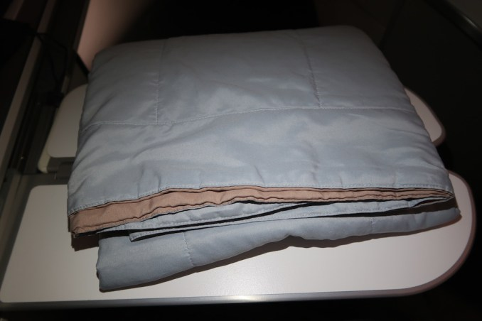 AIR FRANCE BUSINESS CLASS: BLANKET