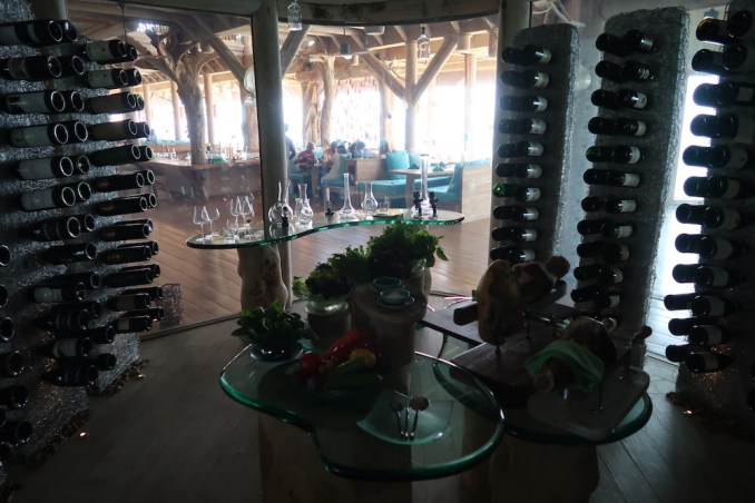 SONEVA FUSHI: OUT OF THE BLUE (CHEESE ROOM)