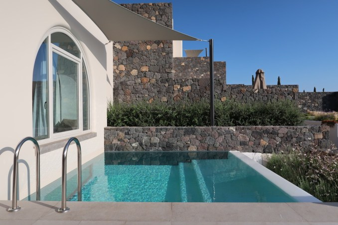 CANAVES OIA EPITOME: TWO BEDROOM VILLA (TERRACE)
